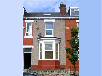 EasyRoommate UK - 4 DOUBLE ROOMS AVAILABLE IN SHARED HOUSE 15 MINS WALK FROM HALLAM UNIVERSITY AND CITY CENTRE - Highfield, Sheffield - £320 pcm