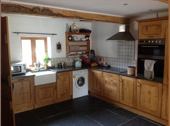 Furnished double room in a 3 bed Barn conversion