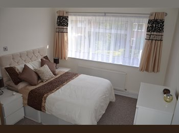 Luxurious & Spacious Double Rooms available now