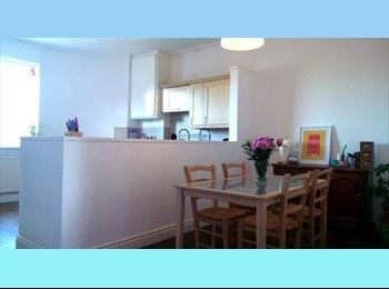 Quiet  double room in spacious City Centre duplex flat...