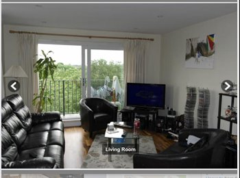 Room to rent in nice penthouse apartment