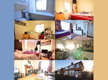 EasyRoommate UK - Spare room in friendly 4 bedroom house. - Fallowfield, Manchester - £380 pcm