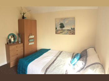 EasyRoommate UK - Top quality rooms in West End house share - Leicester Centre, Leicester - £375 pcm