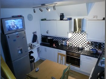 EasyRoommate UK - MEDIUM SIZE SINGLE ROOM, WITH SMALL DOUBLE BED, 3 MIN WALK TO TUBE. - Turnpike Lane, London - £606 pcm