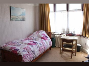 Large furnished room in lovely house with garden