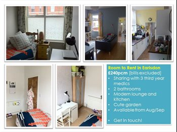 EasyRoommate UK - £240pcm Single room in fab house in Earlsdon - Earlsdon, Coventry - £240 pcm