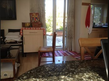 The house in very nice location double bed with  large room...
