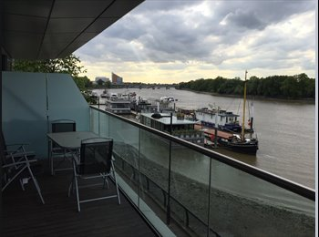 EasyRoommate UK - Wandsworth Riverside Quarter - Putney, London - £1,100 pcm
