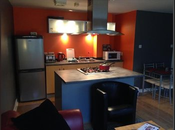 Flat offered to share - double bedroom.