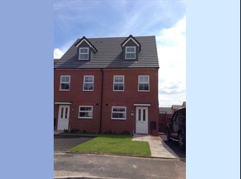 EasyRoommate UK -  White Willow Park 4-bed new house for Warwick University Students - Canley, Coventry - £500 pcm