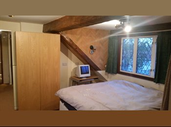 Very large loft room