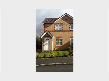 EasyRoommate UK - Double Room Available in Quiet New Build. Parking Available. , Salford - £375 pcm