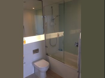 EasyRoommate UK - Spacious ensuite double room in big modern flat - Elephant and Castle, London - £930 pcm