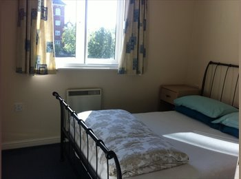 EasyRoommate UK - Good size double bedroom in 2 bedroom flat  - Swindon Town Centre, Swindon - £450 pcm