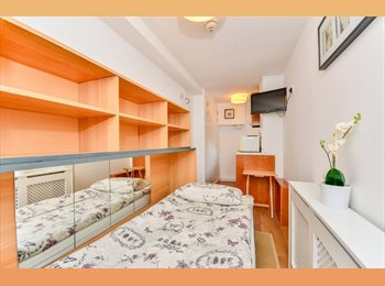 Single room with private kitchen and SHARED SHOWER/WC...