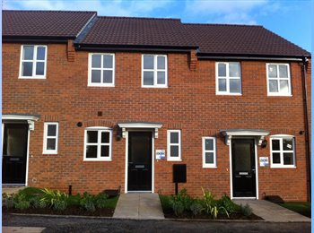 EasyRoommate UK - New build house double room to rent - Loughborough, Loughborough - £350 pcm