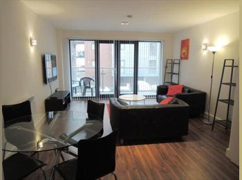 EasyRoommate UK - Double bedroom available to rent in Deansgate, Manchester City Centre - Manchester City Centre, Manchester - £430 pcm