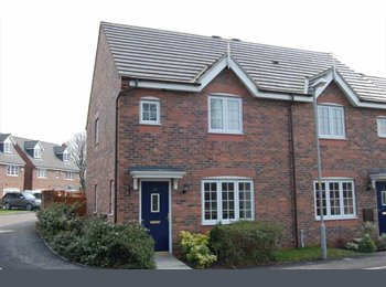 EasyRoommate UK - 3 BEDROOM HOUSE CORNER PLOT 1 EN-SUITE, DINING, KITCHEN, LOUNGE, CLOAKS - Higher Walton, Preston - £695 pcm