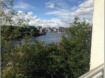 Ouseburn flat with quayside balcony