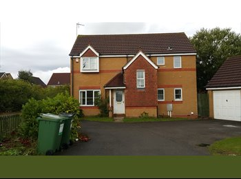 EasyRoommate UK - 4 Bed Detached Property available in Thorpe Astley - Enderby, Leicester - £825 pcm