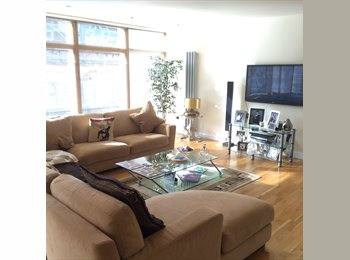 EasyRoommate UK - MERCHANT CITY - SUPERKING SIZE BEDROOM TO RENT - Glasgow Centre, Glasgow - £850 pcm