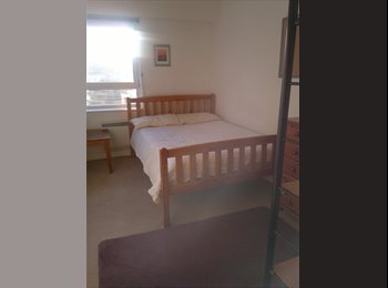one double bed in well maintained flat