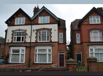 EasyRoommate UK - Furnished Room in Quiet House Share near Town Centre - Walsall, Walsall - £420 pcm
