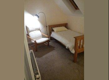 EasyRoommate UK - Skyroom, single room on top floor. - Ashford, Ashford - £400 pcm