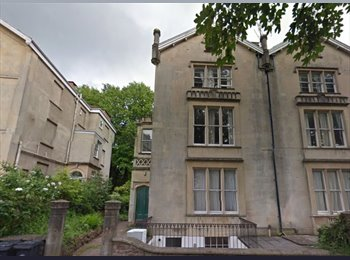 EasyRoommate UK - Large bedroom for rent in Flat near University of Bristol - Clifton, Bristol - £109 pcm