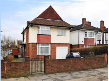 A pleasant double room in a flatshare on Old Oak Road, East...
