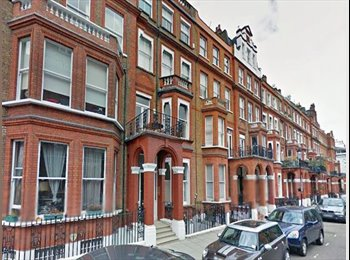 A lovely room in a two bedroom Kensington apartment