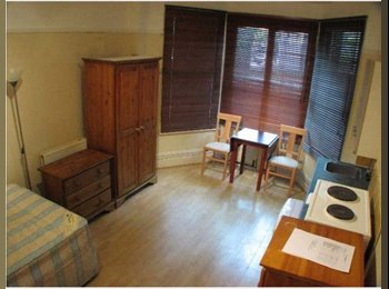 EasyRoommate UK - Double Studio with own Shower and Kitchen Area in W14 - West Kensington, London - £800 pcm