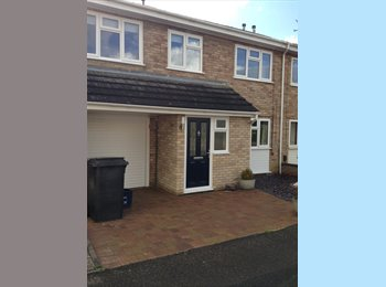 EasyRoommate UK - Two rooms available in modern 5 bed house - Kingsthorpe, Northampton - £450 pcm
