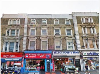 EasyRoommate UK - A fabulously well-presented double bedsit with your own kitchenette in Ladbroke Grove, W10 - Ladbroke Grove, London - £940 pcm