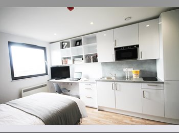 EasyRoommate UK - Luxury Studio to rent for £99pppw - Newcastle City Centre, Newcastle upon Tyne - £423 pcm
