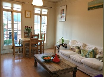 EasyRoommate UK - Sunny flat to share in West Hampstead  - Queens Park, London - £750 pcm