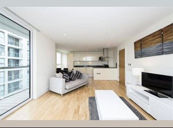 EasyRoommate UK - Rare opportunity - Double bed in modern building - Canary Wharf, London - £790 pcm