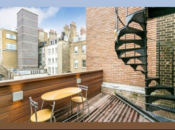 EasyRoommate UK - Amazing En-suit Bedroom in Covent Garden with Terrace! - Covent Garden and The Strand, London - £1,300 pcm