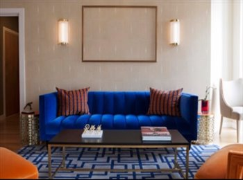 Master double bedroom in luxury flat in Zone 1