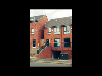 EasyRoommate UK - Double bedroom to rent in student house in Salford - Higher Broughton, Salford - £390 pcm