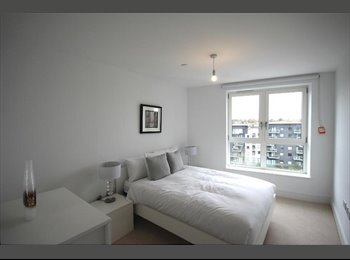 MODERN DOUBLE BEDROOM Near HOLLOWAY STATION (with GYM)