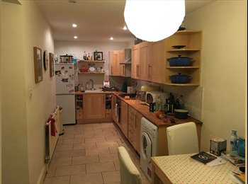 Double Room with own bathroom in great flat!