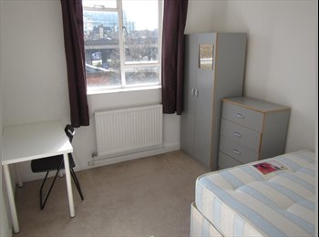 EasyRoommate UK - NICE SINGLE ROOM WITH DOUBLE BED IN PADDINGTON – ZONE 1 – BAKERLOO / CIRCLE / HAMMERSMITH AND CITY L - Paddington, London - £802 pcm