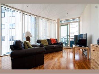City centre bedroom in modern flat