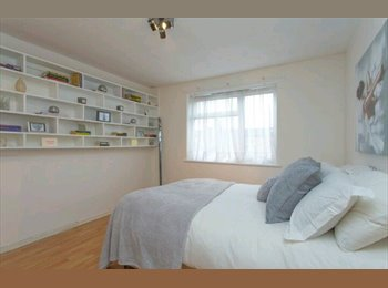 EasyRoommate UK - Double room, shared living room 1 other housemate Available Now - Brent, London - £475 pcm