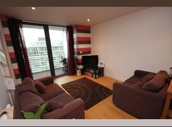 EasyRoommate UK - Double room available in 2 bedroom flat - Manchester City Centre, Manchester - £425 pcm