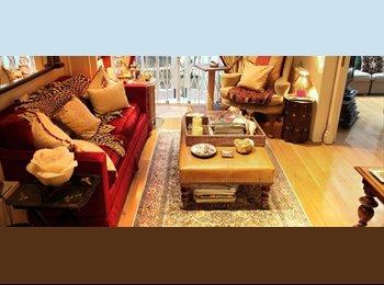 EasyRoommate UK - Bohemian Room with Double Bed in Luxury Victorian House in Kensington - West Kensington, London - £1,600 pcm
