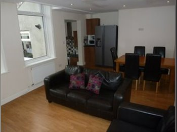 TWO ROOMS AVAIL IN OUR 6 BED PROF HOUSE SHARE IN HEATON -...