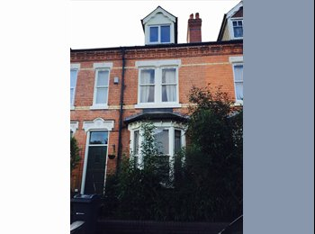 Room for rent in Professional house share in Moseley