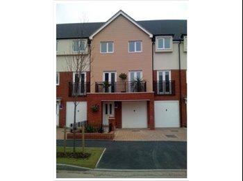 EasyRoommate UK - Stunning 3 Story New Build Town House - Wednesfield, Wolverhampton - £420 pcm